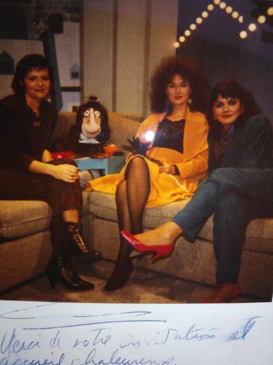 """Christine Lemelin à """"Le Petit Champlain"""" à la télé de Radio-Canada à Québec 1987?"""